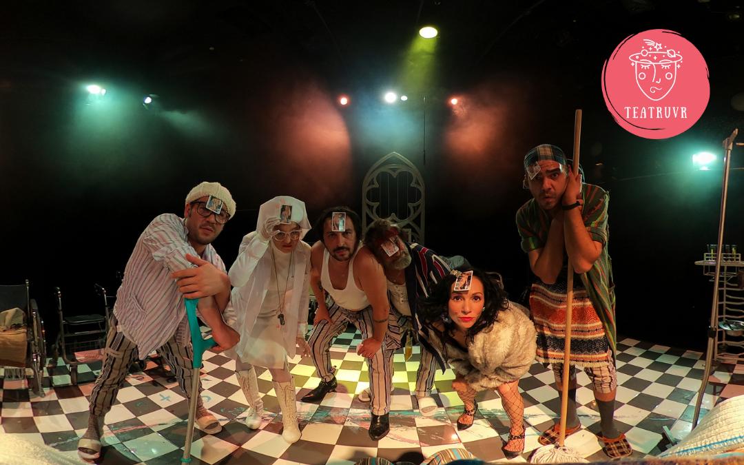 Teatru VR este online! Vezi adaptarea Zbor deasupra unui cuib de cuci!
