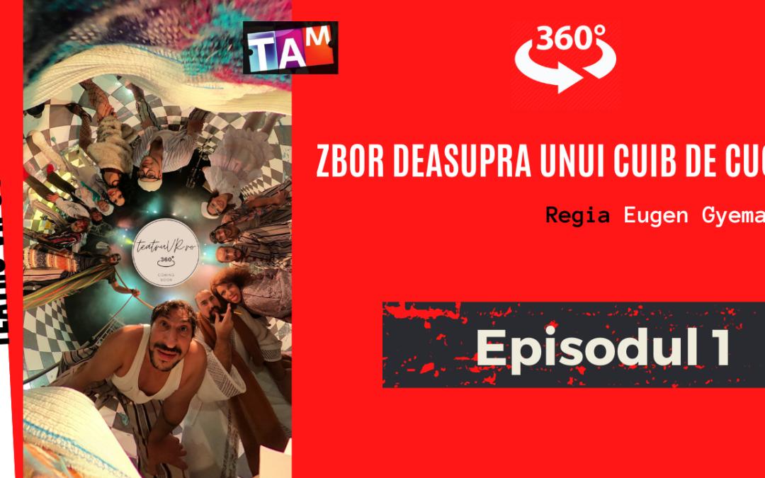 Magia teatrului transpusă în tehnologie VR360 la Teatrul Andrei Mureșanu
